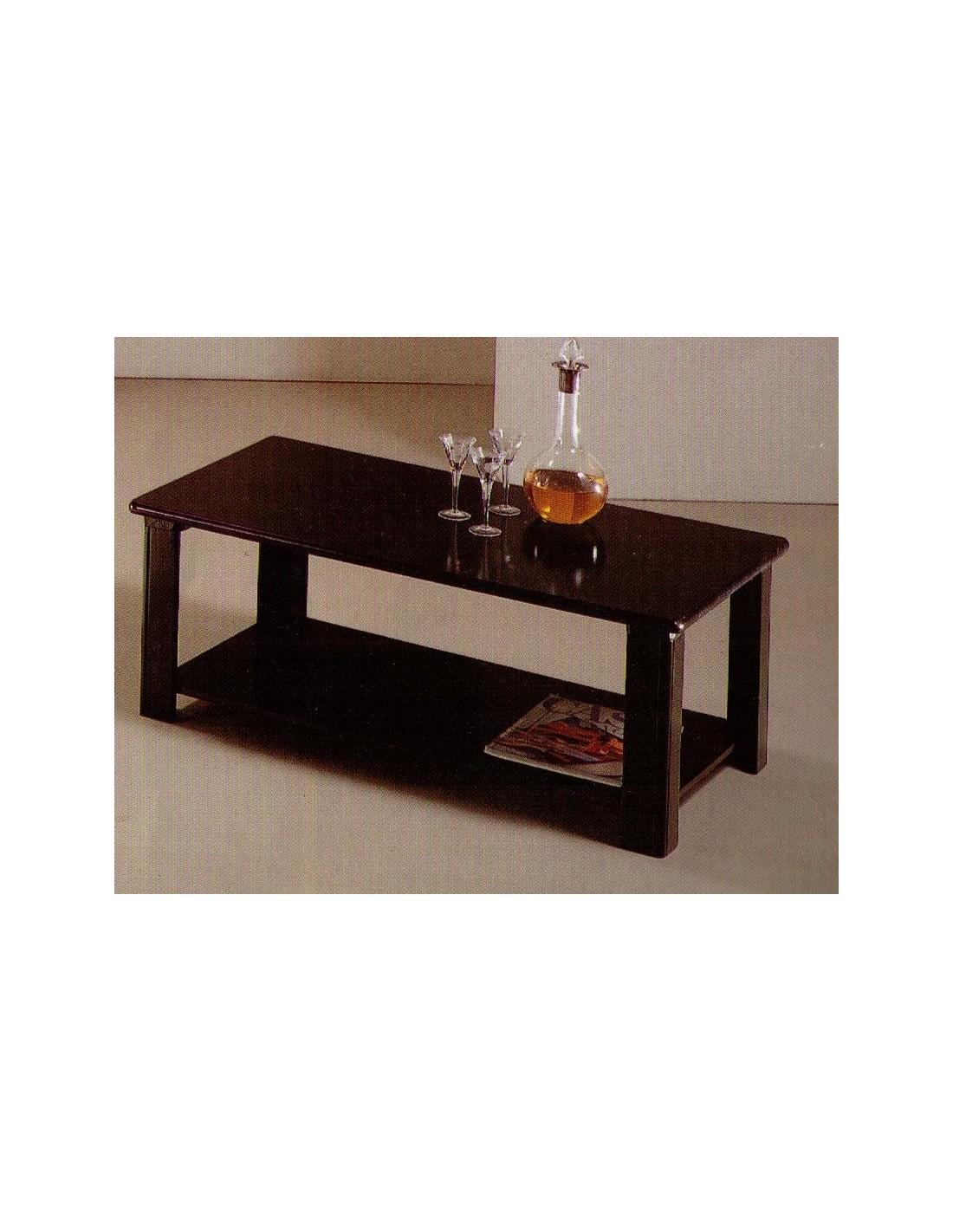 Tavolino da salotto moderno rettangolare in legno laccato ...
