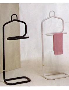 Indossatore portasciugamani in metallo rosso bianco nero o giallo