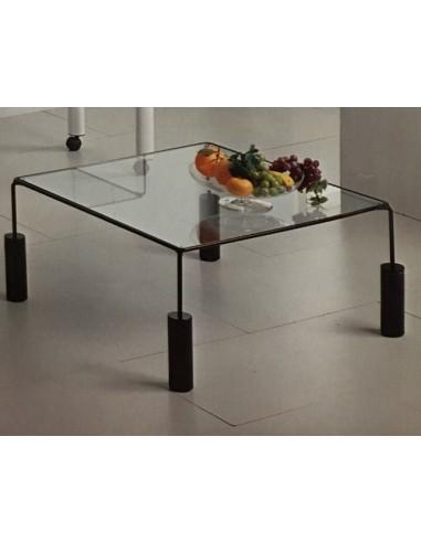 Tavolino Da Salotto Quadrato Classico.Tavolino Da Salotto Quadrato In Metallo Colore Bianco O Nero