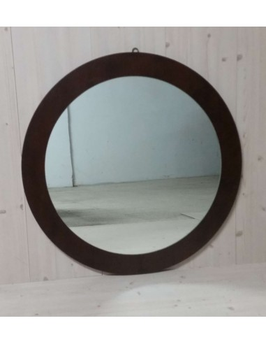 Specchio rotondo moderno colore nero