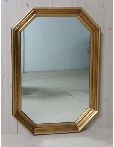 Specchio classico il legno colore oro