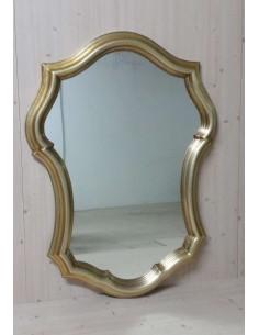 Specchio classico in legno colore cornice oro arredo conveniente - Specchio cornice oro ...