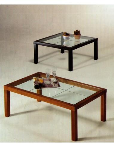 Tavolino Salotto In Noce.Tavolino Da Salotto Moderno Quadrato In Legno Noce O Laccato Nero E
